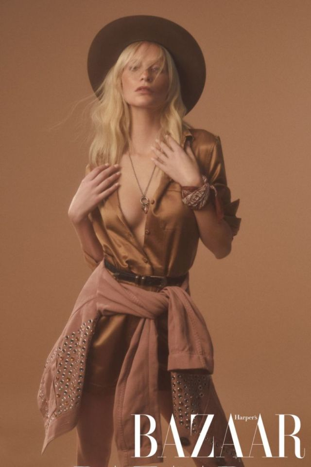 Poppy Delevingne Glams Up Harper's Bazaar Taiwan
