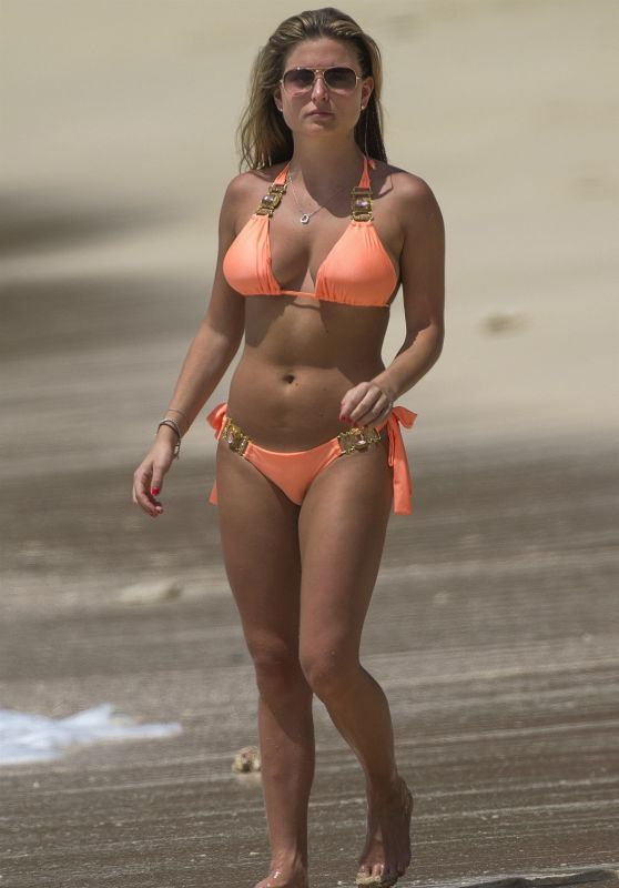 Zara Holland On A Bikini Vacation In Barbados