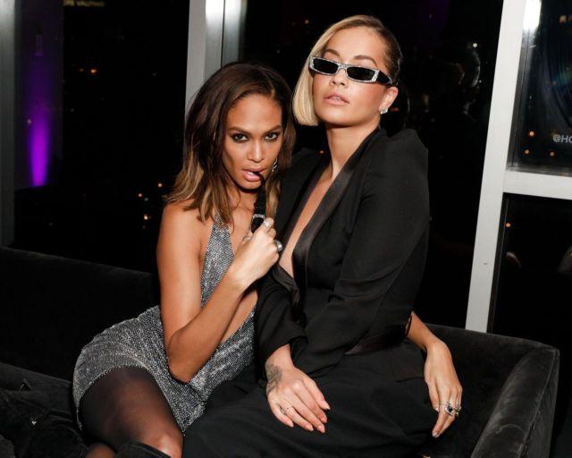 Rita Ora In Pure Black At Alain Mikli x Alexandre Vauthier Party