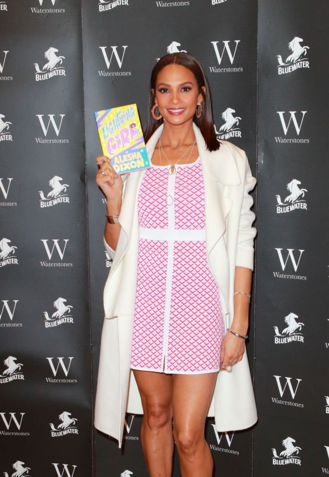 Alesha Dixon Attends The 'Lightning Girl' Book Signing Event