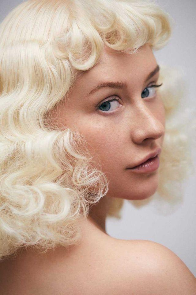 Christina Aguilera's Exclusive Paper Magazine Photoshoot