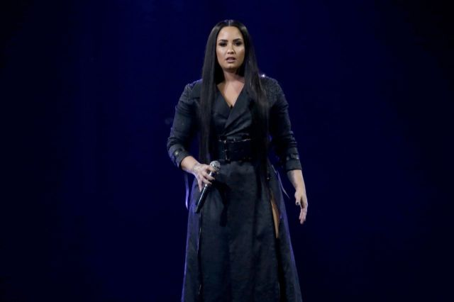 Demi Lovato Gave A Rocking Live Performance At Prudential Center