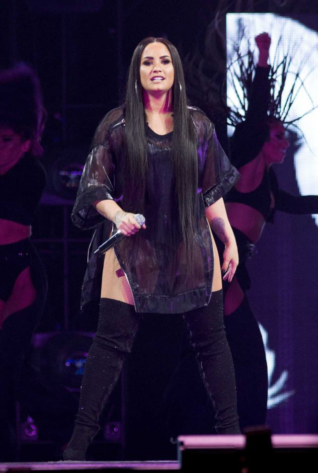 Demi Lovato Rocked New York On The 'Tell Me That You Love Me' Tour