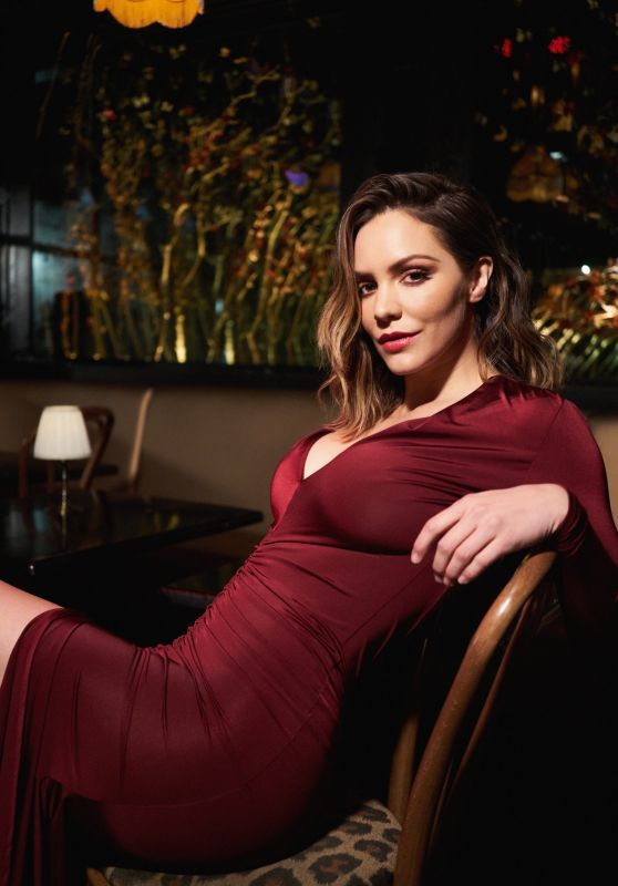 "Katharine McPhee For ""Night and Day"" Music Video Shoot"