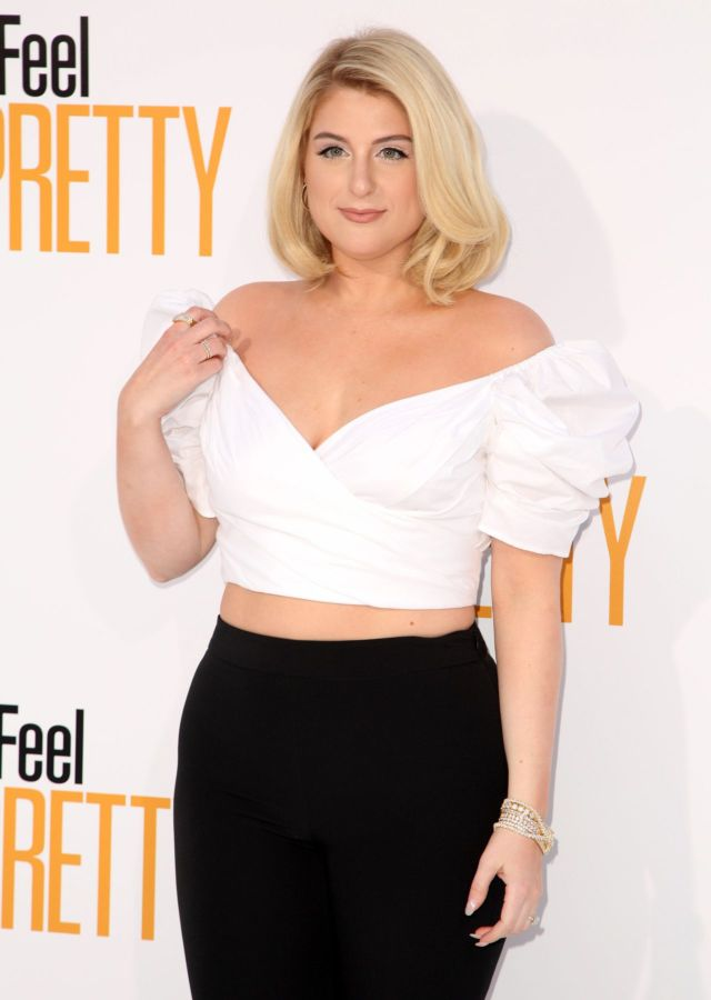 Gorgeous Meghan Trainor Attends 'Feel Pretty' Premiere