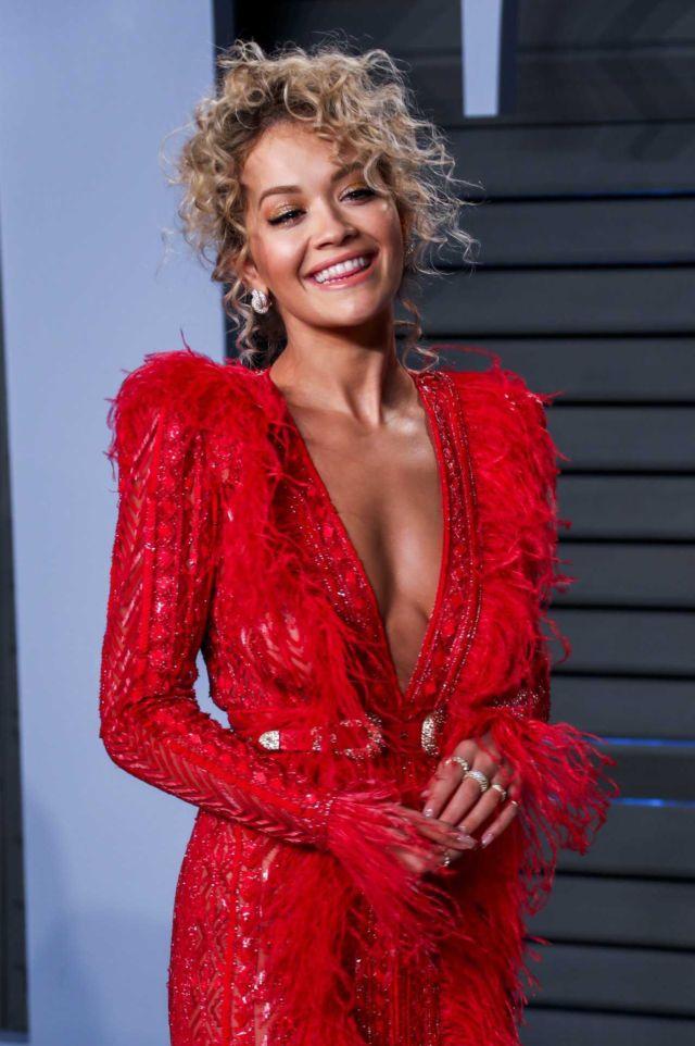 Rita Ora Attends Vanity Fair Oscars Party 2018