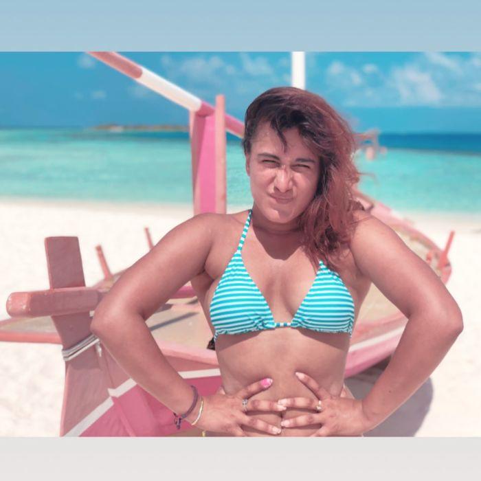 'MTV Girls On Top' Fame Saloni Chopra Bikini Photos