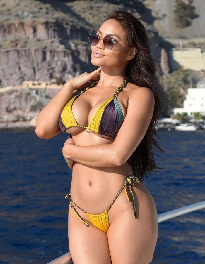Daphne Joy In A Joyful Bikini Photoshoot In Italy