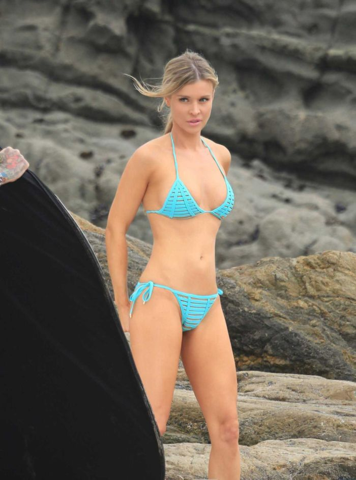 Joanna Krupa Poses For A Bikini Photoshoot In Malibu