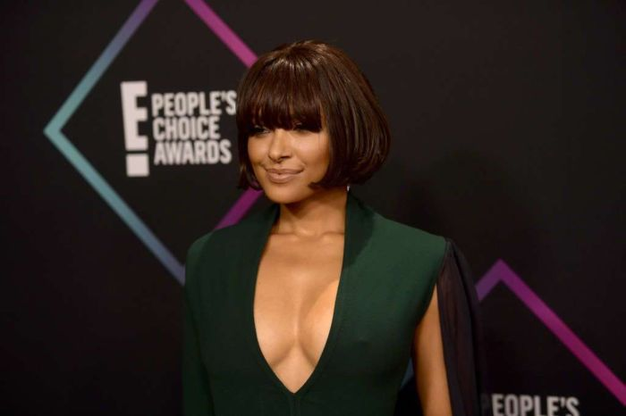 Kat Graham Attends People's Choice Awards 2018