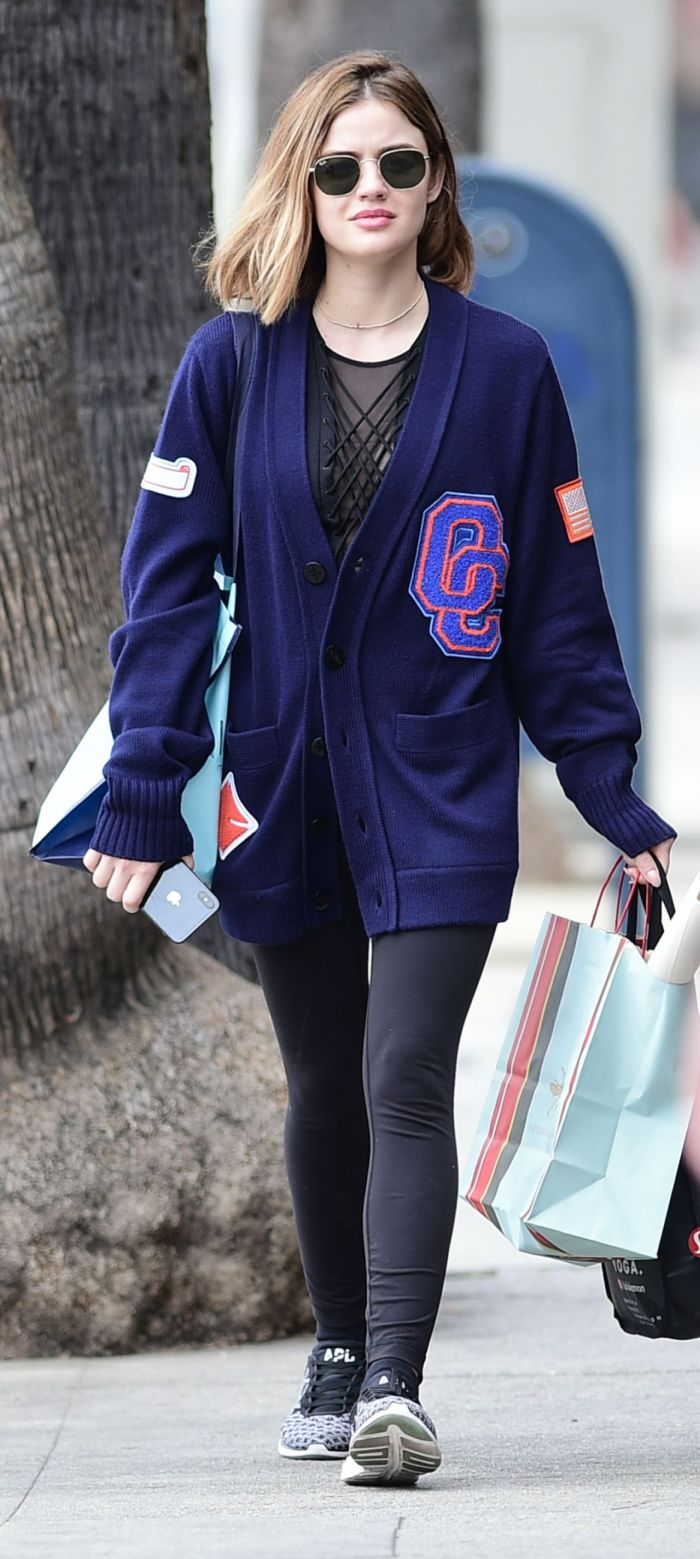Lucy Hale Took A Shopping Trip With A Friend In Los Angeles